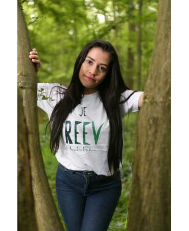 Je REEV - T-shirt coupe droite blanc