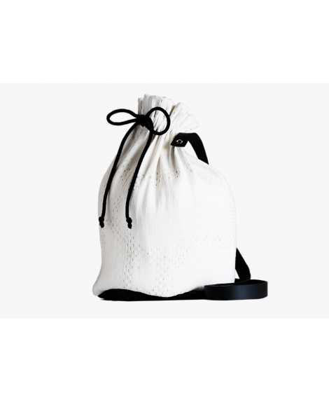 Sac bourse SHADE blanc